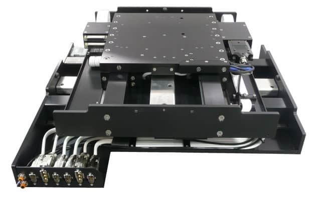 Dover Motion's AirGlide stage features frictionless bearings