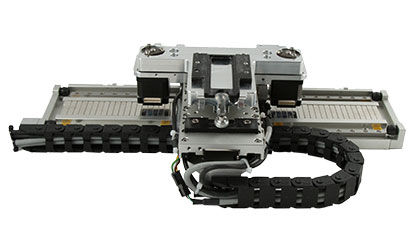 Linear Motor - Motorized Linear Stages - Leadscrew driven stepper motor stage moving a well plate